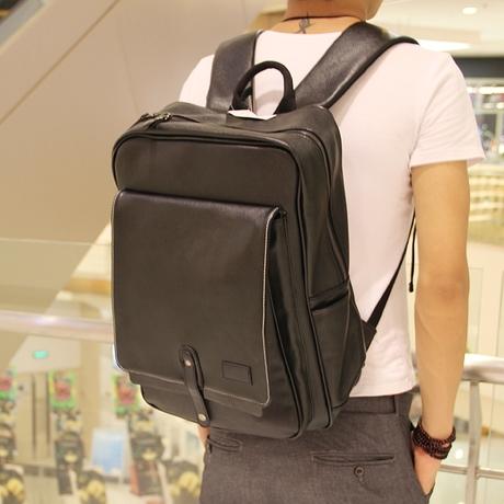 กระเป๋าผู้ชาย   กระเป๋าหนังแฟชั่นชาย เป้สะพายหลัง แฟชั่นเกาหลี