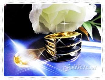 แหวนนิล gold plated 5microns/white gold plated