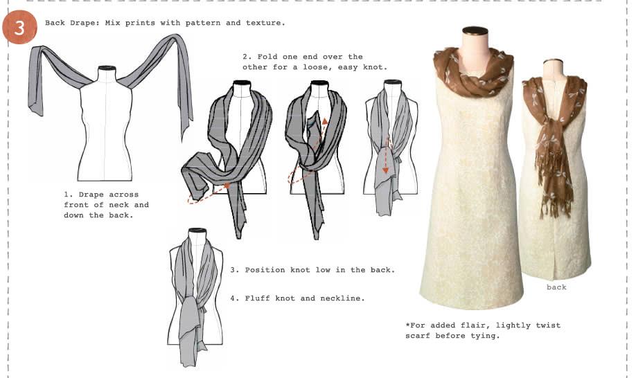 วิธีผูกผ้าพันคอ3