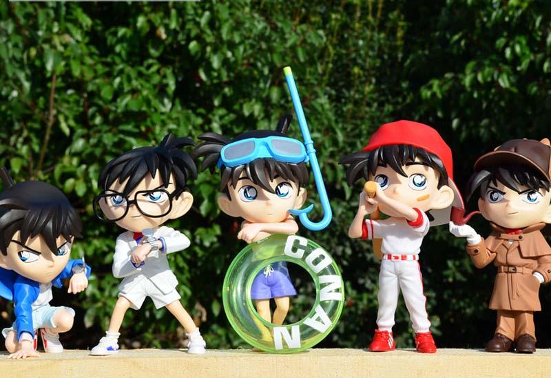 โมเดลโคนัน 5 ตัว ชุดเบสบอล ชุด 7