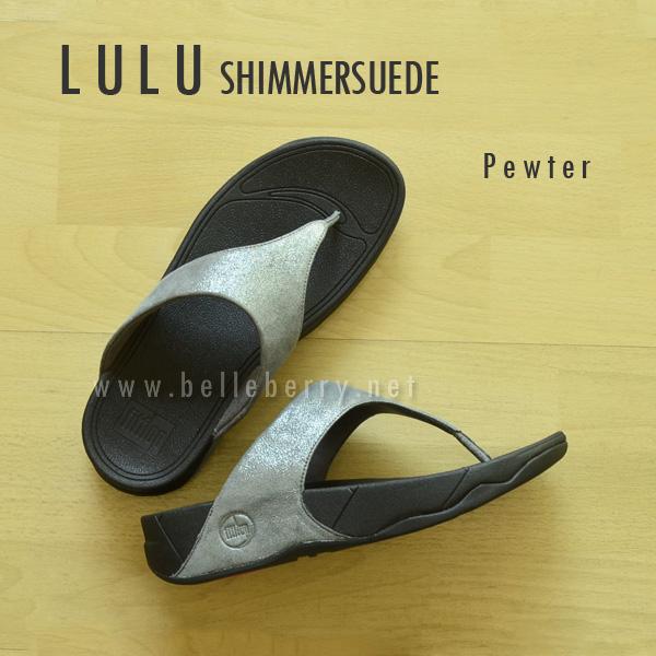 **พร้อมส่ง** FitFlop LULU Shimmersuede : Pewter : Size US 8 / EU 39