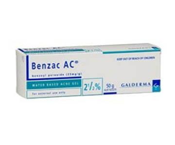 Galderma Benzac AC 2.5 % 60 G.