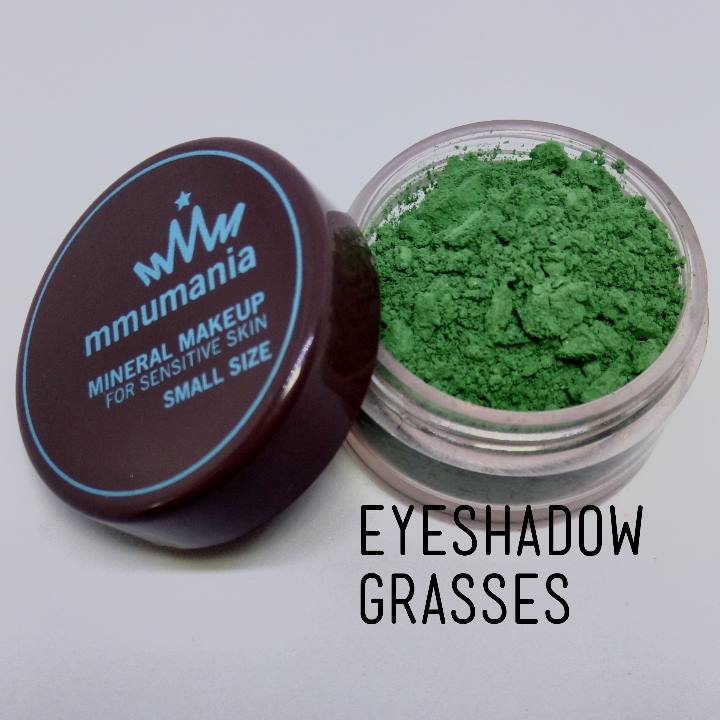 ขนาดจัดชุด MMUMANIA Mineral Makeup Eyeshadow สี Grasses