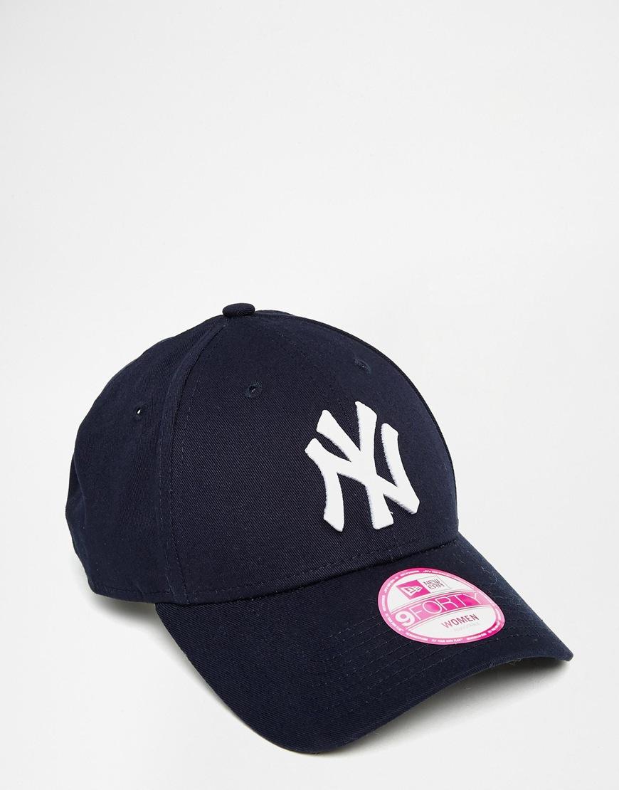 Pre order New Era 9Forty NY Navy Cap