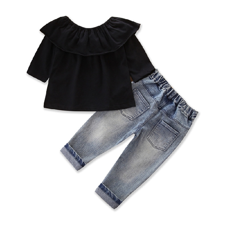 km2977 เสื้อ+กางเกง size 2T-7T 6 ตัวต่อแพ็ค