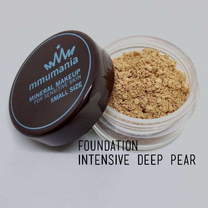 ขนาดเล็ก MMUMANIA Intensive Foundation รองพื้นสูตรปกปิด สี Deep Pear ผิวคล้ำเหลือง