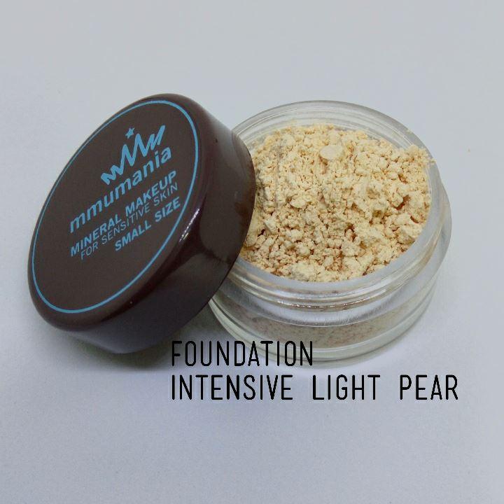 ขนาดใหญ่ MMUMANIA Intensive Foundation รองพื้นสูตรปกปิด สี Light Pear ผิวขาวเหลือง