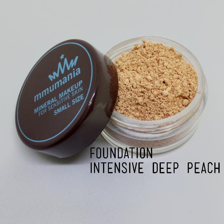 ขนาดกลาง MMUMANIA Intensive Foundation รองพื้นสูตรปกปิด สี Deep Peach ผิวคล้ำเหลืองอมแดง