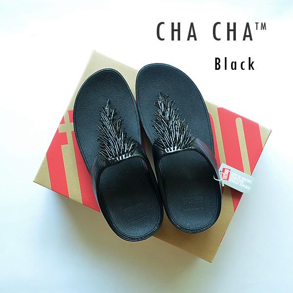 **พร้อมส่ง** FitFlop Cha Cha : Black : Size US 7 / EU 38