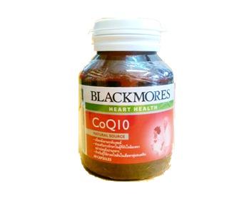 Blackmores Vitamins Co Q10 60 แคปซูล ช่วยบำรุงผิว ลดริ้วรอย ทำให้ดูอ่อนเยาว์