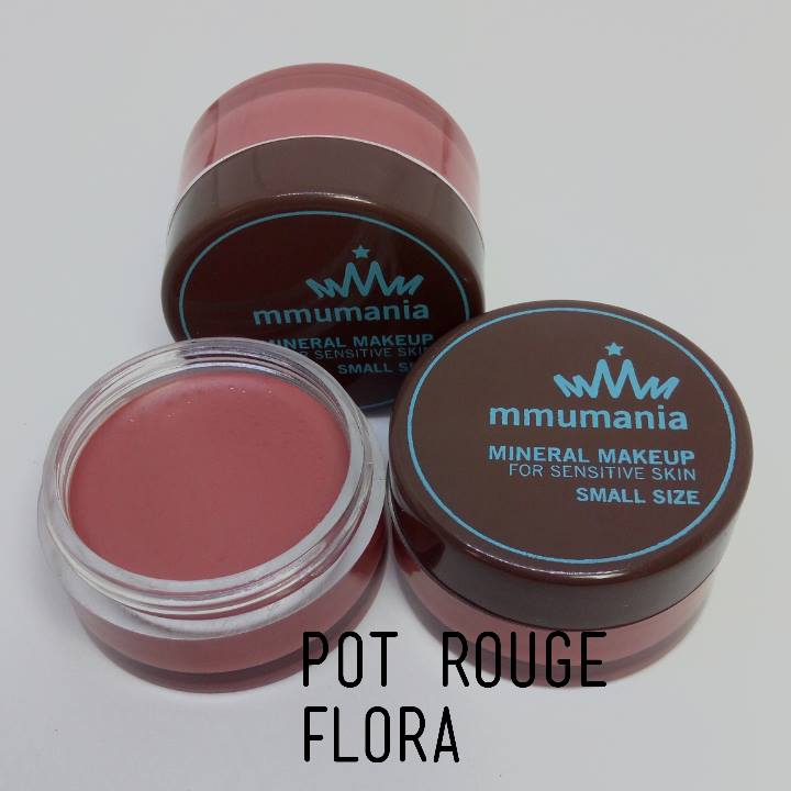 ขายดี MMUMANIA Pot Rouge สี Flora ลิปสติกเนื้อแมท สีชมพูนู้ด