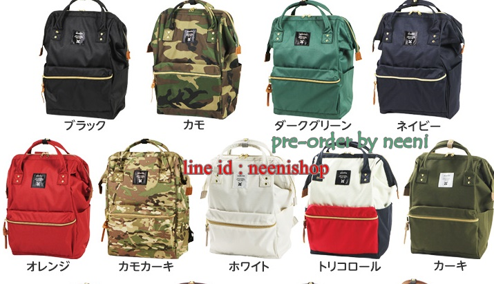 กระเป๋าเป้ Anello สุดฮิตจากญี่ปุ่น