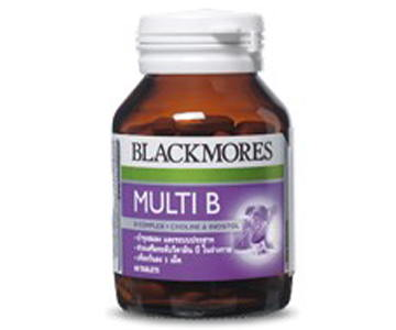 Blackmores Multi B 120 เม็ด บำรุงสมอง ลดความเครียด บำรุงร่างกาย และช่วยเจริญอาหาร
