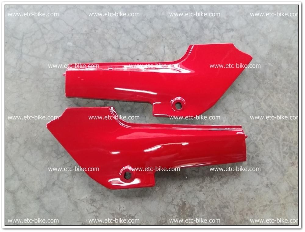 ฝากระเป๋า KR150 เก่า สีแดงใหม่
