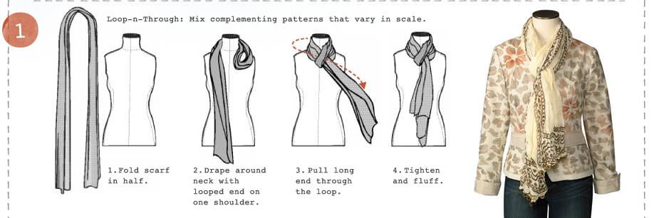 วิธีผูกผ้าพันคอ1