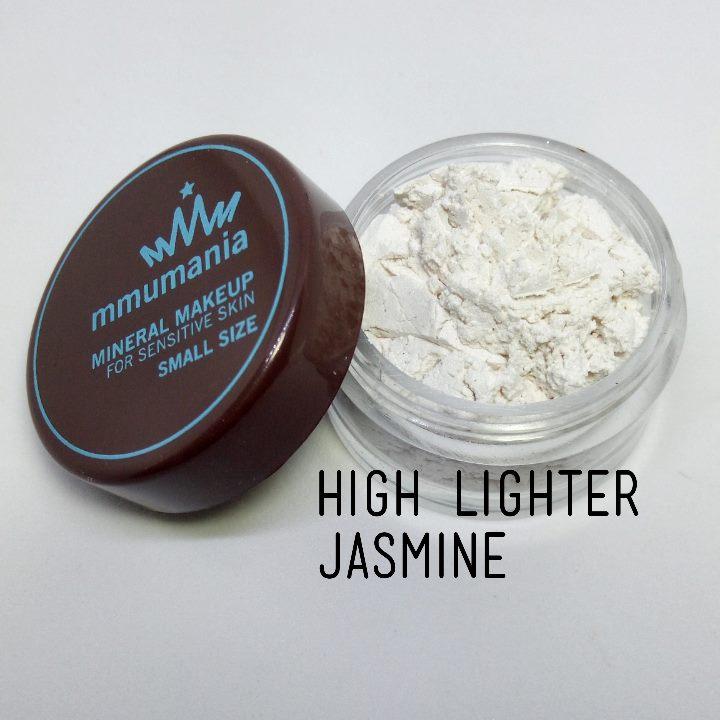ขนาดจัดชุด MMUMANIA mineral makeup Pearl Powder : Jasmine ผงมุกเพิ่มประกายเงางาม