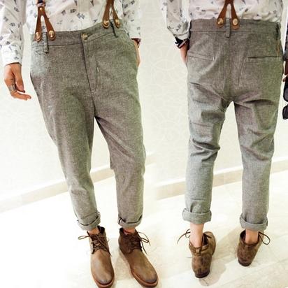 กางเกงผู้ชาย   กางเกงแฟชั่นผู้ชาย กางเกงขายาว แฟชั่นเกาหลี