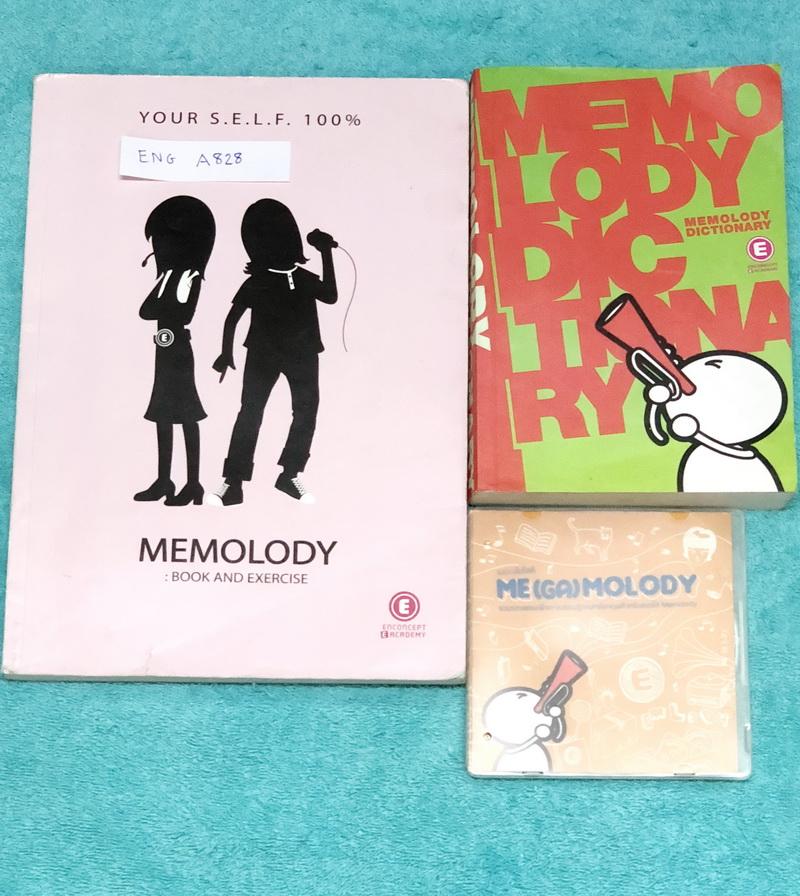 ►ครูพี่แนน Enconcept◄ ENG A828 เซ็ท Memelody + Cd เพลงภาษาอังกฤษครูพี่แนน มีเพลง + เนื้อเพลงมากกว่า 200 เพลง ในเซ็ทประกอบด้วย 1. หนังสือ Memolody Book เป็นเล่มเนื้อเพลง มีเขียนบางหน้า บริเวณด้านหลังปกหนังสือมีรอยตัดบ้าง เนื้อหาและกระดาษในหนังสือครบถ้วนสมบ