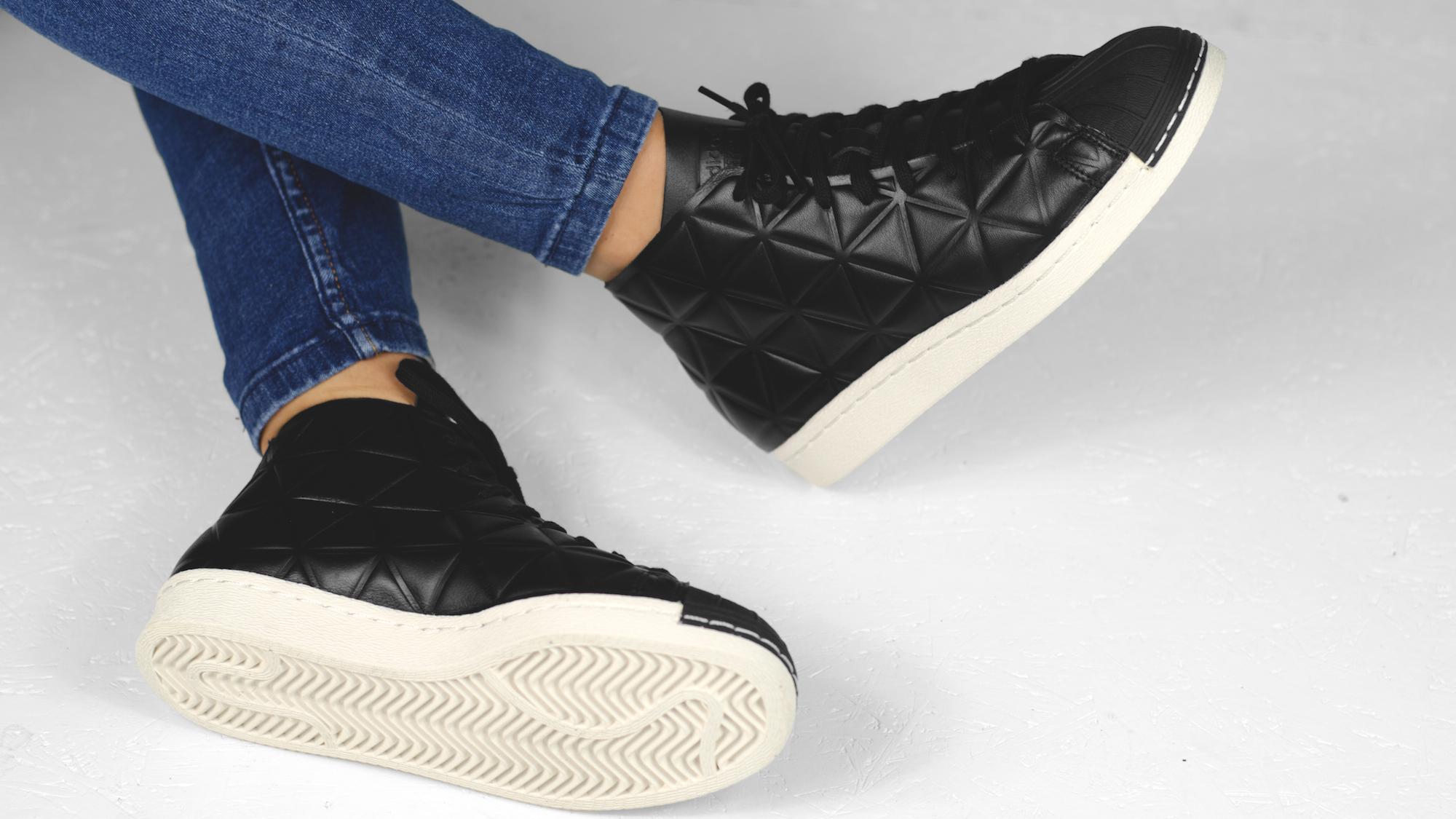 PRE ORDER Adidas Promodel 80's Black Polygon