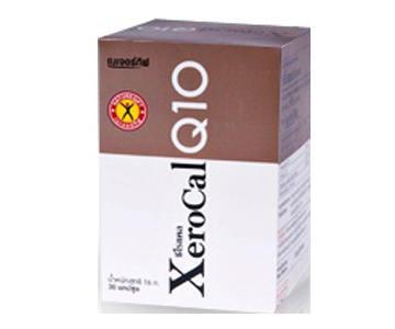 เนเจอร์กิ๊ฟ XeroCal Q10 30แคปซูล บำรุงประสาท ลดความเครียด บำรุงผิวพรรณ ลดริ้วรอยก่อนวัย ช่วยเพิ่มการเผาผลาญ
