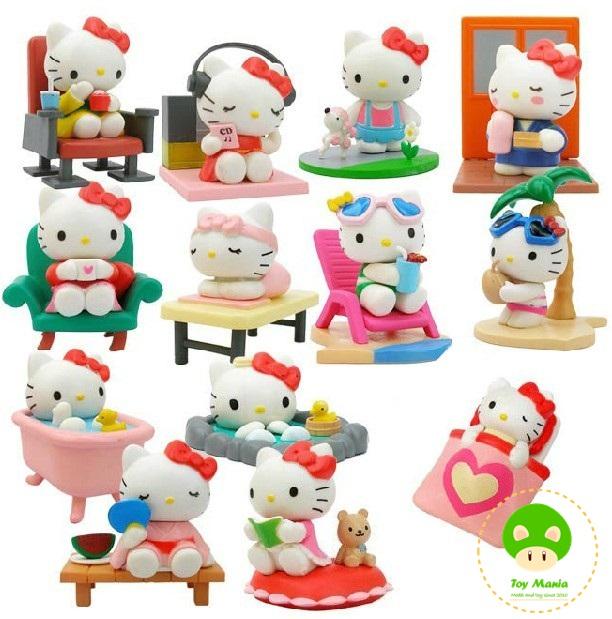 โมเดลคิตตี้ ชุด Hello Kitty Relax