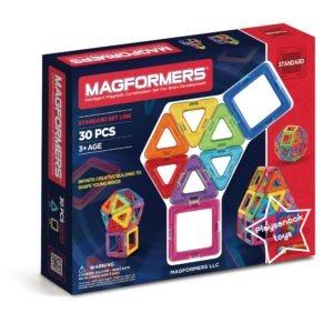 GX-1004 ตัวต่อแม่เหล็ก Magformers 30 Pcs