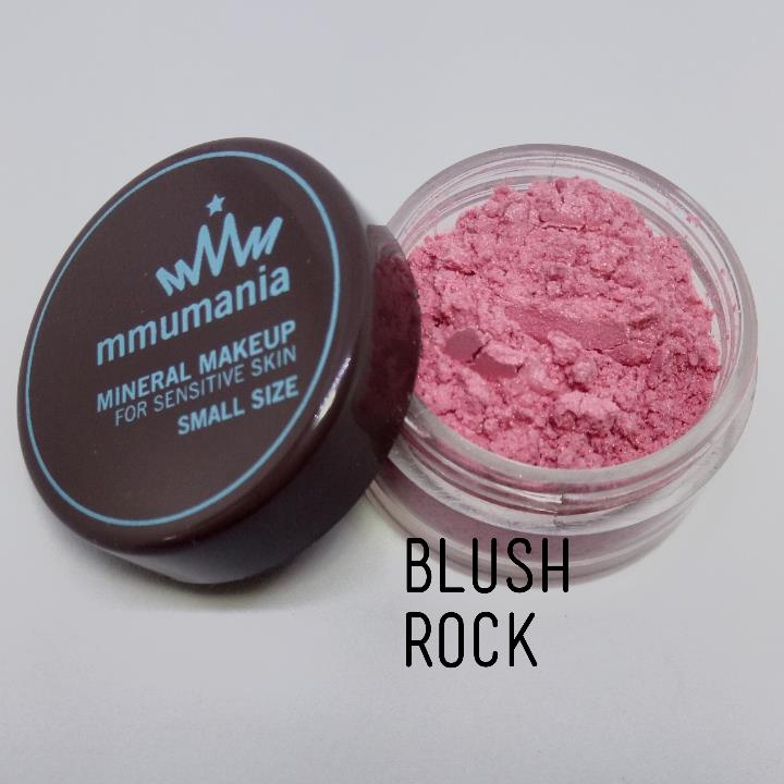 ขนาดจัดชุด MMUMANIA Mineral Makeup Blush : Satin สี Rock