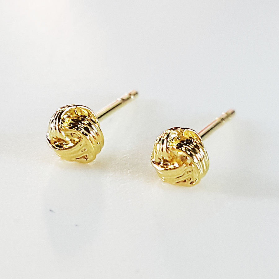 Inspire Jewelry Earing with gold plated 100% 24K