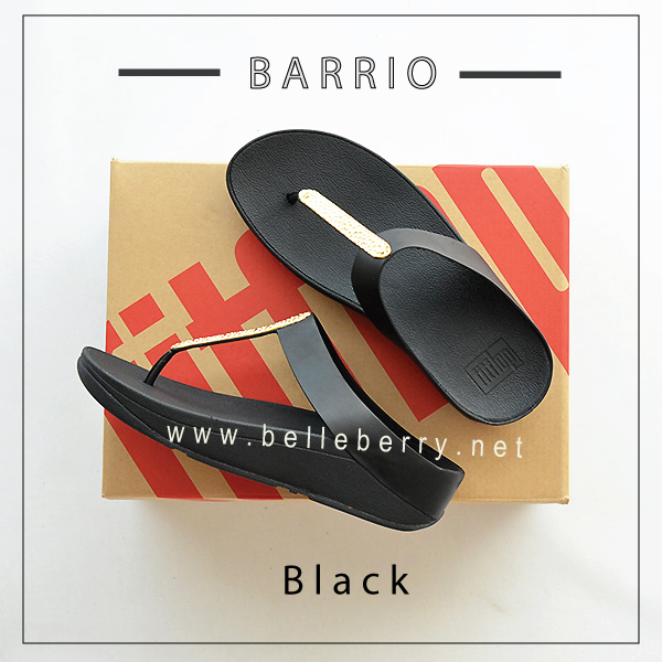 FitFlop : BARRIO : Black : Size US 5 / EU 36