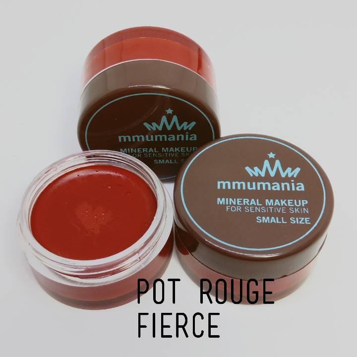 MMUMANIA Pot Rouge สี Fierce ลิปสติกเนื้อแมท สีแดงจัดจ้าน
