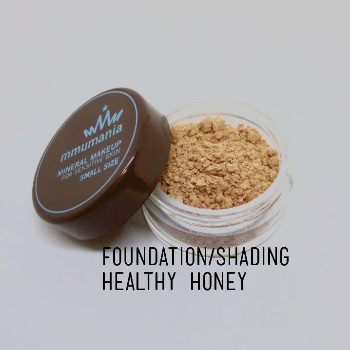 ขนาดกลาง MMUMANIA Healthy Honey รองพื้นเนื้อบางเบา กึ่งเงาเล็กน้อย แลดูสุขภาพดี สำหรับสีผิวเข้ม