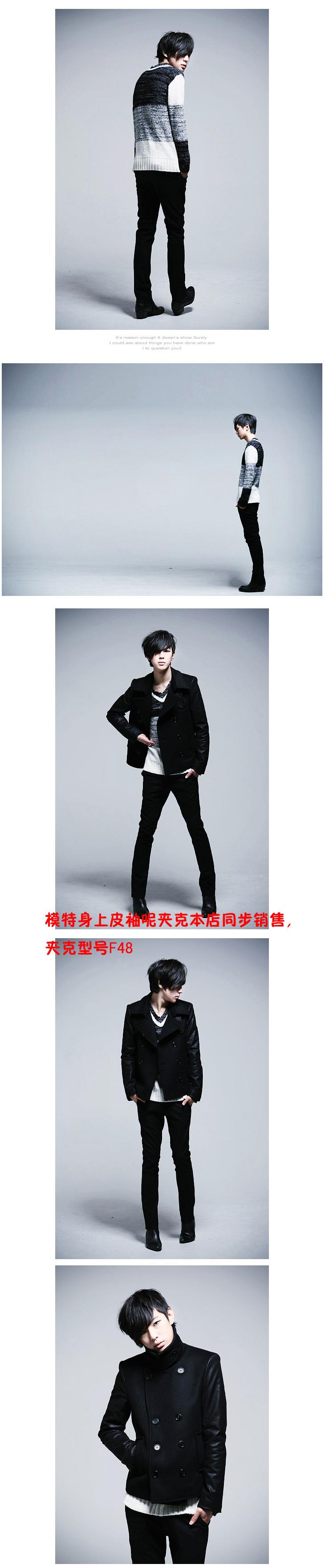 เสื้อผ้าผู้ชาย   เสื้อกันหนาว เสื้อแขนยาว แฟชั่นเกาหลี