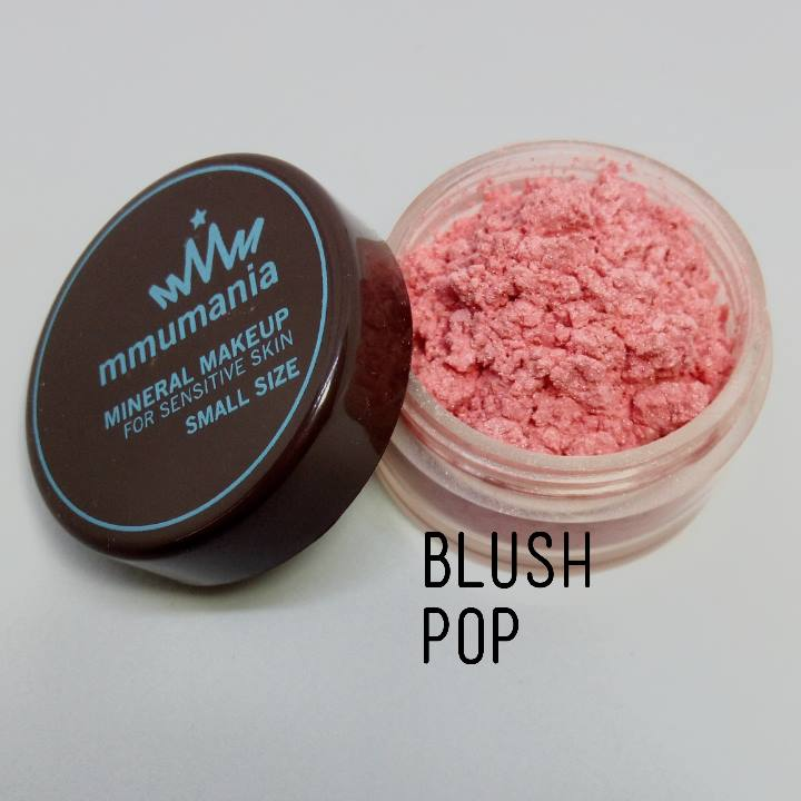ขนาดจัดชุด MMUMANIA Mineral Makeup Blush : Satin สี Pop