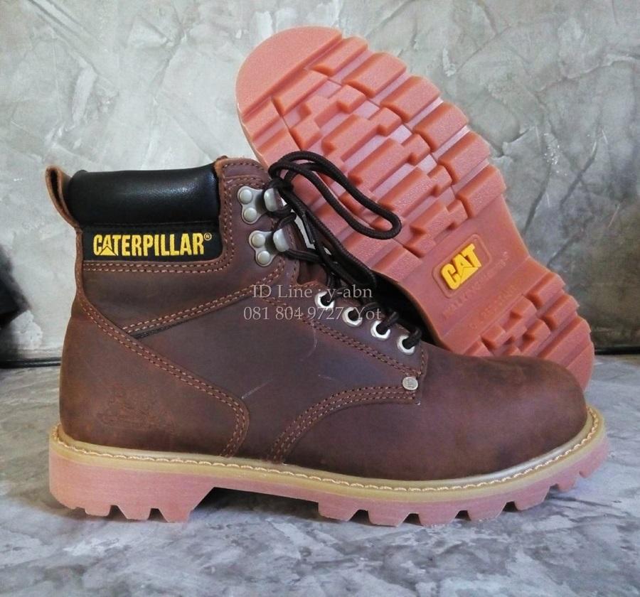 รองเท้าหนัง Caterpillar หนังแท้100% size 40-44 (ไม่ใช่หัวเหล็ก)