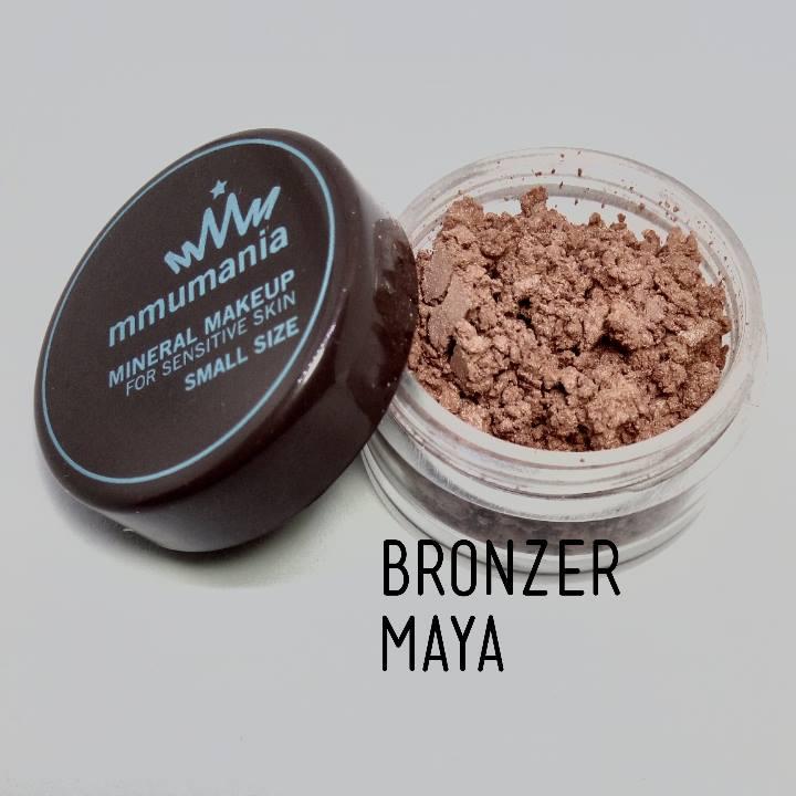 ขนาดจัดชุด MMUMANIA Mineral Makeup Super Glow : Bronzer : Maya