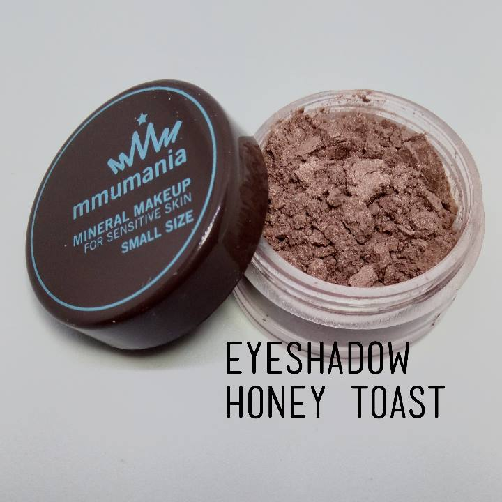 ขนาดจัดชุด MMUMANIA Mineral Makeup Eyeshadow สี Honey Toast