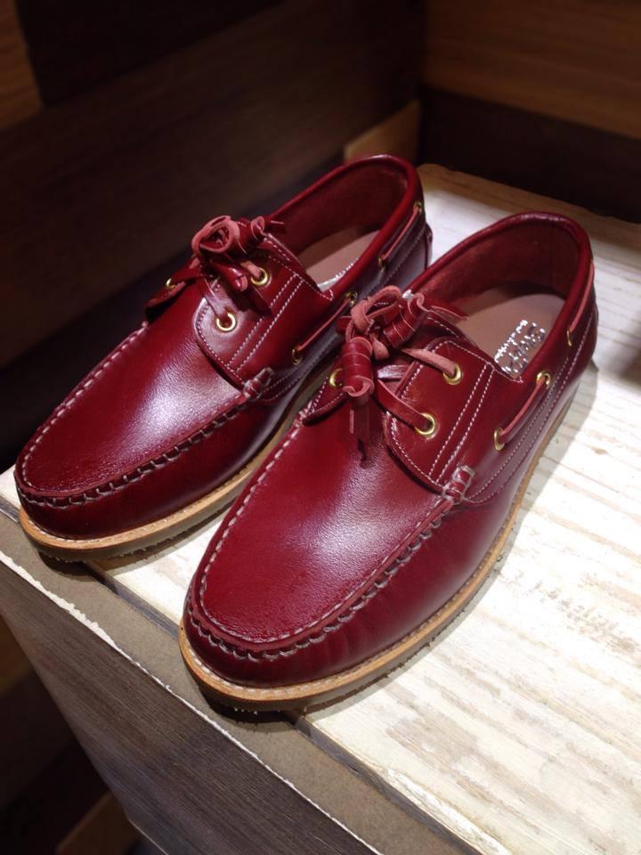 รองเท้าผู้ชาย   รองเท้าแฟชั่นชาย Red Boat Shoe หนังฟอก CCO ทำจากหนังวัวแท้