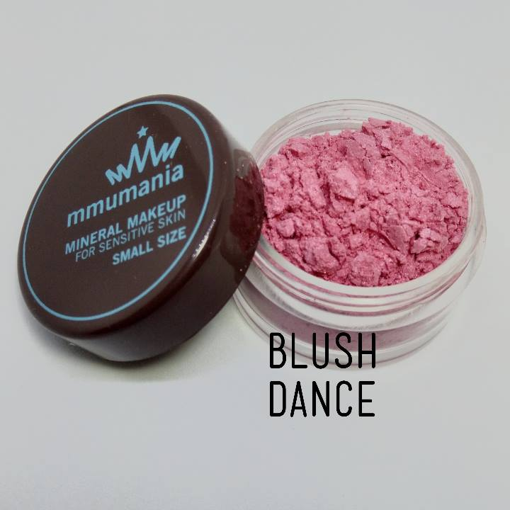 ขนาดเล็ก MMUMANIA Mineral Makeup Blush : Satin สี Dance