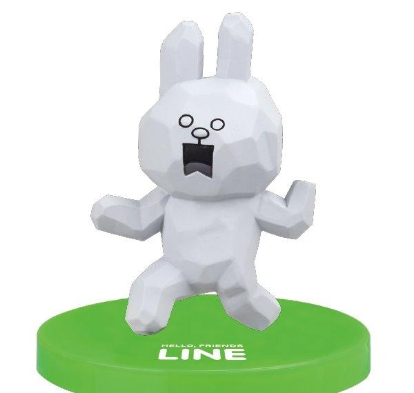 """""""พร้อมส่ง""""นำเข้าจากญี่ปุ่น 100% LINE Model LINE CHARACTER Figure Collection โมเดลตุ๊กตา line ตั้งโต๊ะ -Cony Freeze"""