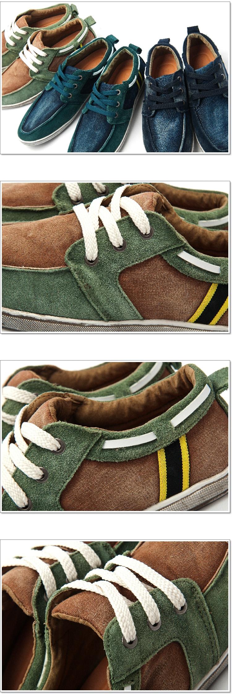รองเท้าผู้ชาย   รองเท้าแฟชั่นชาย รองเท้าหนังกลับ แฟชั่นเกาหลี