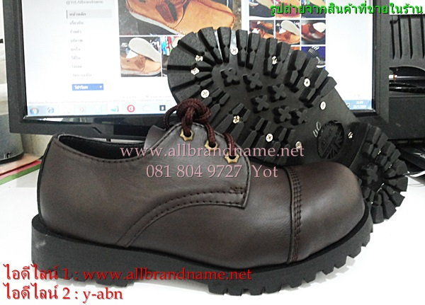 รองเท้าอันเดอร์กราวน์ Under ground สีน้ำตาล ไซส์ 40-45