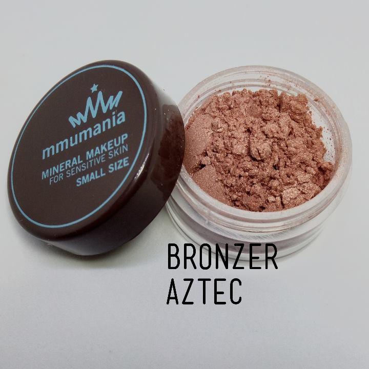 ขนาดจัดชุด MMUMANIA Mineral Makeup Super Glow : Bronzer : Aztec