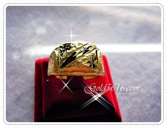 แหวนทองหลายแบบหลายลาย gold plated 5microns