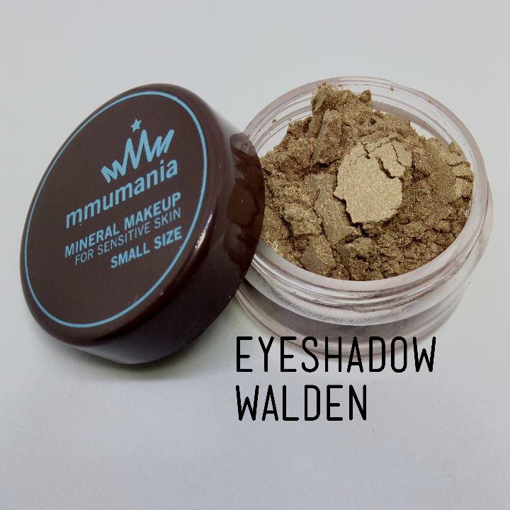 ขนาดจัดชุด MMUMANIA Photogenic Eyeshadow อายแชโดว์สี Walden