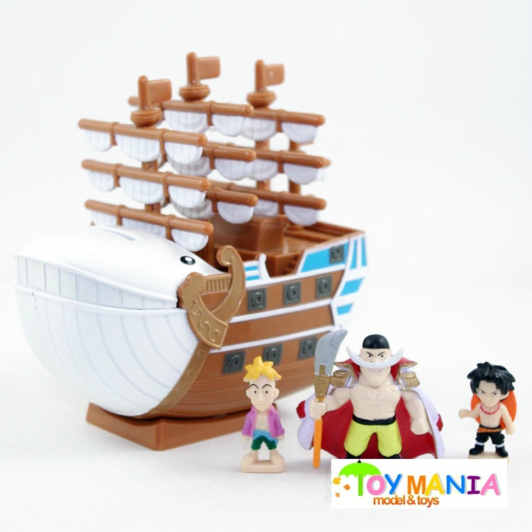 วันพีช เรือหนวดขาว ชุด 8