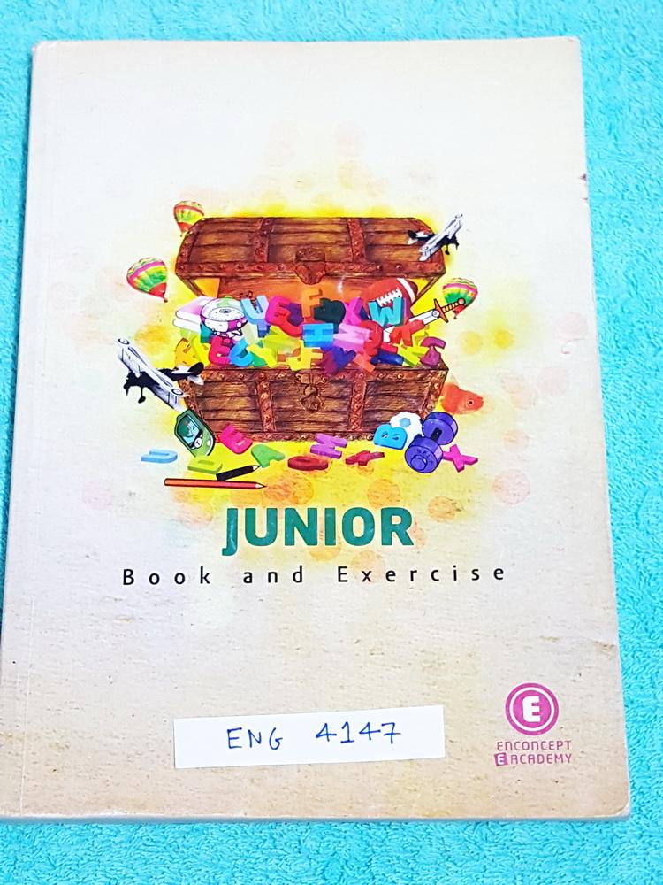 ►ครูพี่แนน Enconcept◄ ENG 4147 อังกฤษ ม.ต้น Junior Book and Exercises สรุปแกรมม่าภาษาอังกฤษระดับชั้น ม.ต้น จดครบเกือบทั้งเล่ม จดละเอียดด้วยดินสอและปากกา มีกฎเหล็ก + เทคนิคลัดการจำแกรมม่าหลายข้อ