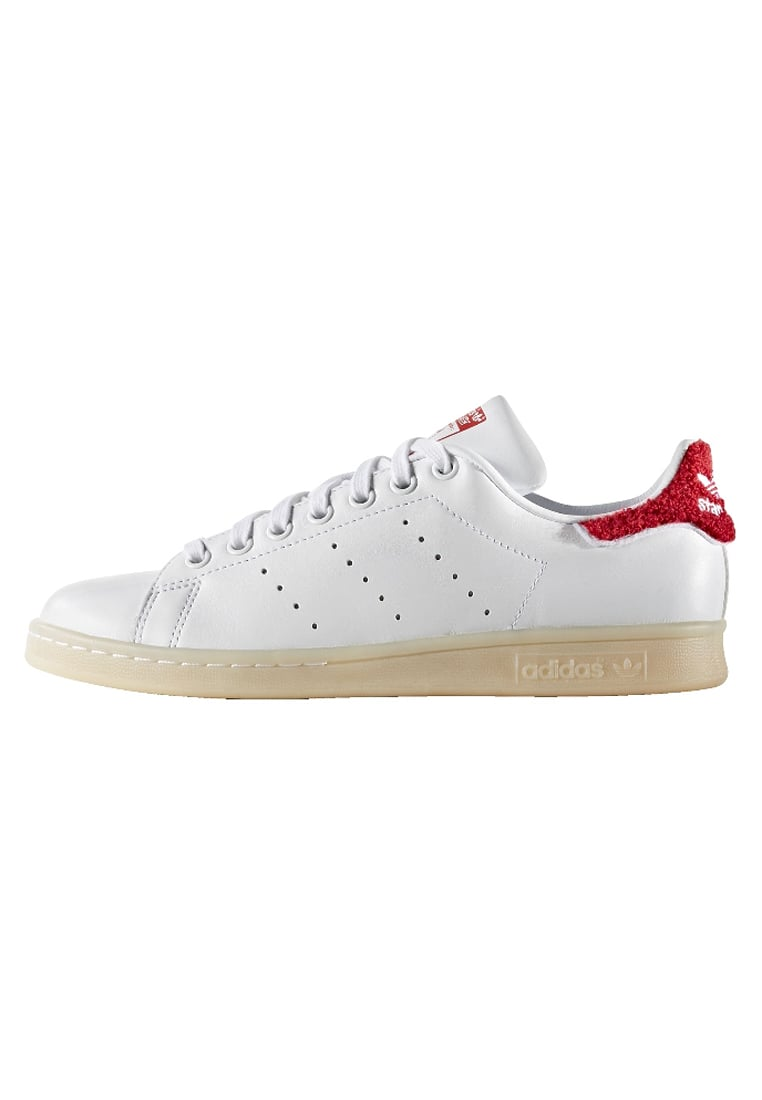 PREODER ADIDAS ORIGINALS STAN SMITH - Trainers - white/collegiate red