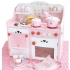 ชุดครัว Strawberry ใหญ่ (Mother Garden Deluxe Strawberry Kitchen Pink Set)