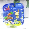 Littlest Pet Shop ชุด Bunny With Mud Puddle Action Figure