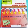 ►ดร.ป๊อก◄ MA 7219 Math Inter คณิตศาสตร์ ม.ต้น ข้อมูล สถิติ ในหนังสือมี 2 ภาษาทั้งภาษาไทยและอังกฤษ มีสรุปสูตร เนื้อหาและโจทย์แบบฝึกหัด จดละเอียดเกินครึ่งเล่ม แสดงวิธีทำอย่างละเอียด หนังสือเล่มหนาใหญ่